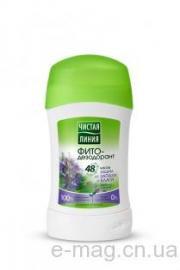 Дезодорант твердый стик защита от запаха 48гр Чистая Линия