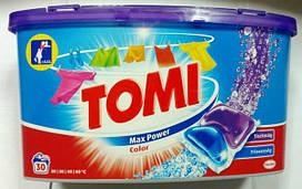 Tomi Max Power Color капсулы для цветного белья 30 шт