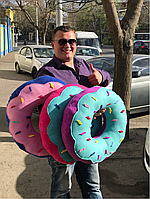 Декоративная подушка Пончик Донатс, фото 1