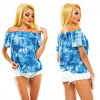 Женская блузка-топ летняя 328 оптом