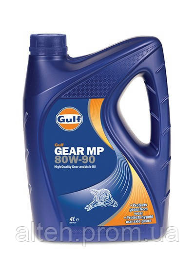 Купить Трансмиссионное масло Gulf Gear MP 80W-90, API GL-5 5л