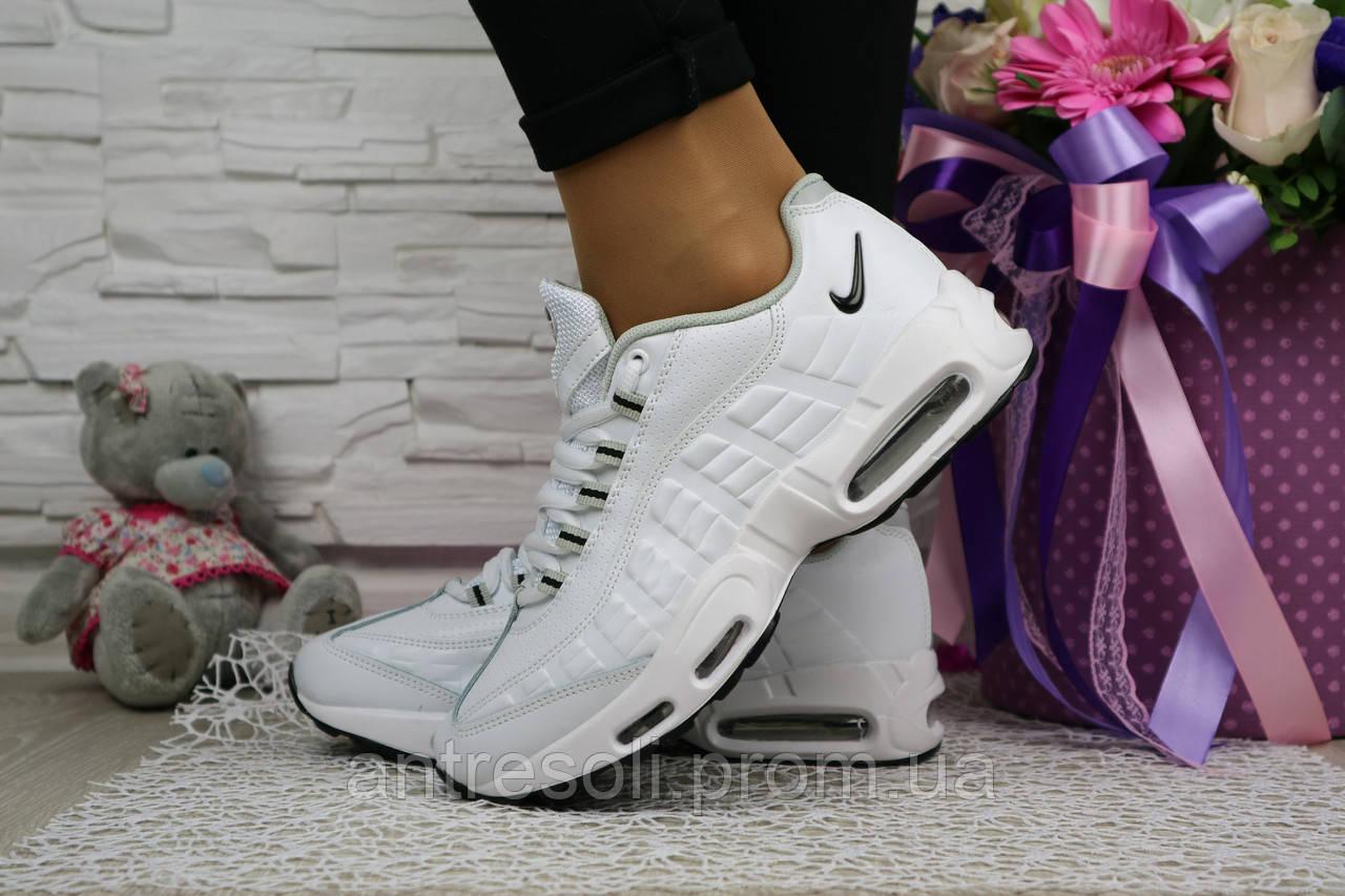 Женские  кроссовки Nike AirMax 95 Белые 10827