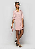 Платье рубашка Анжела, платье до колена, платье-туника, фото 1