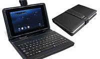 Чехол с английской клавиатурой для планшета 7 дюймов черный