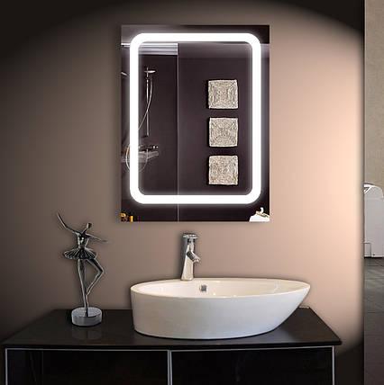 Зеркало для ванной LED ver-3028 600х800, фото 2