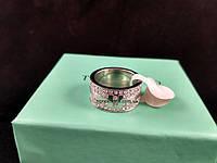 Кольцо Тиффани с камушками 735