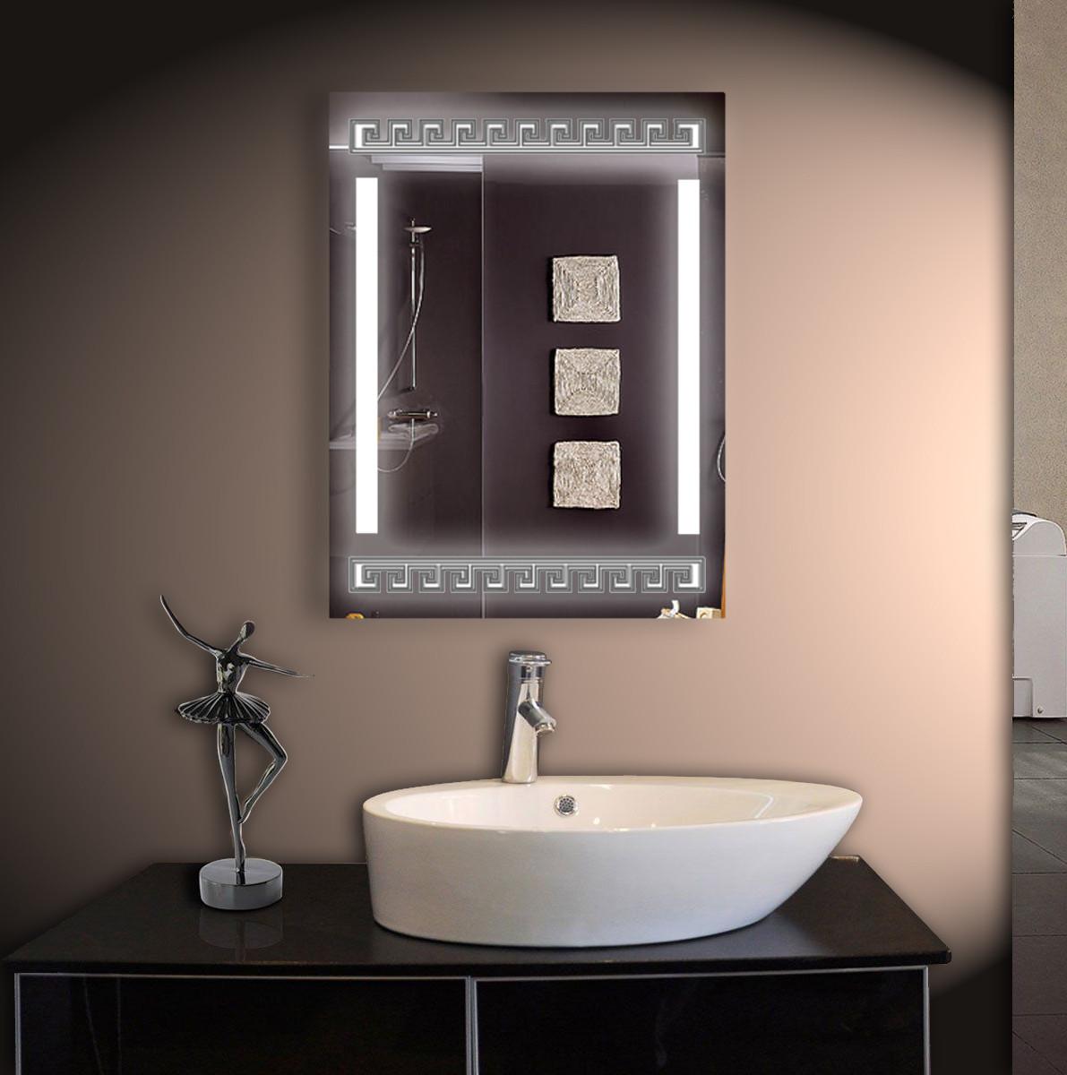 LED зеркало ver-3050 600х800