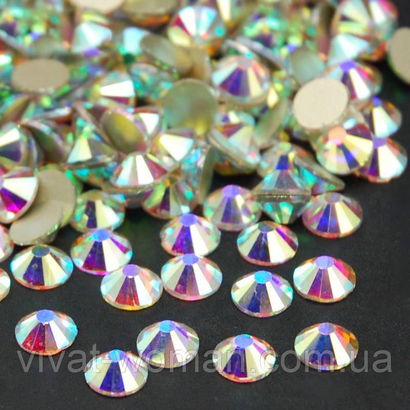 Стрази Crystal AB SS34 (7,0-7,3 мм) холодної фіксації. Ціна за 1 шт