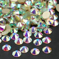 Стразы Crystal AB SS34 (7,0-7,3 мм) холодной фиксации. Цена за 1 шт, фото 1