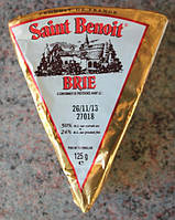 Сыр Бри Ведж 125гр. 50% Saint Benoiт