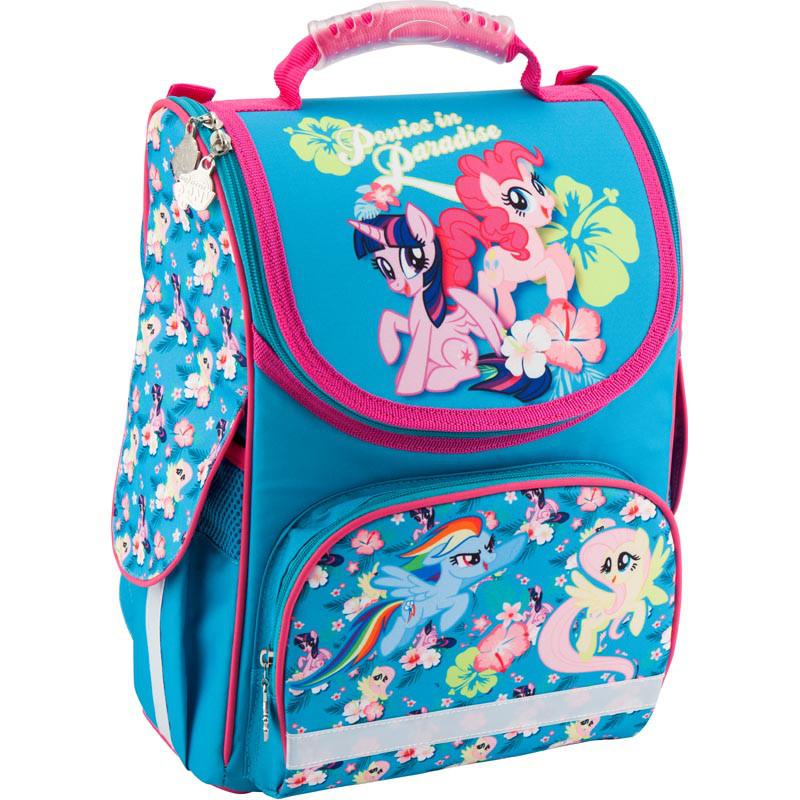 0b31d6ad9a45 Рюкзак школьный каркасный Kite ортопедический My Little Pony LP18-501S-1,  фото 1
