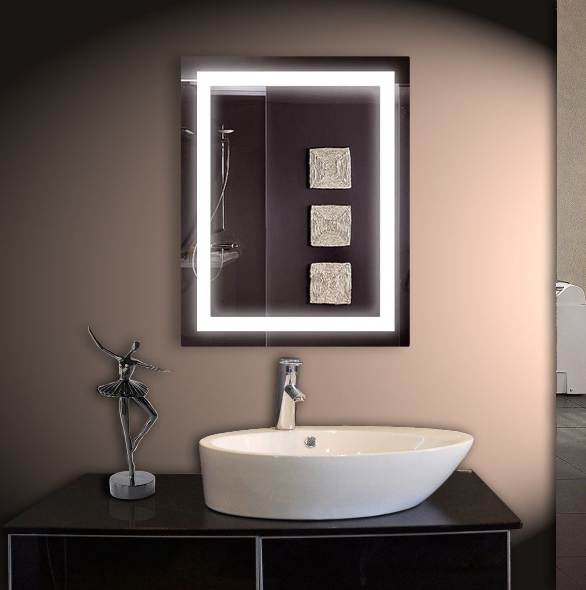 LED зеркало ver-3054 533х683 мм