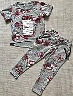 Детский спортивный костюм для девочки 4-10 лет