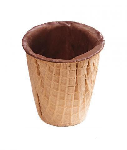 """Вафельный стаканчик для кофе """"Yummy cup"""" (1 ящик) 24 шт."""