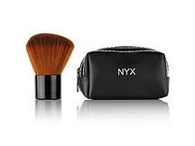Кисть для нанесення пудри натуральна NYX (в гаманці)