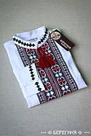 Подростковая вышитая сорочка Орий красная