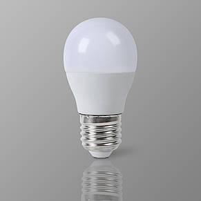 Лампа LED G45 6W 4100K 220V E27 Vestum, фото 3