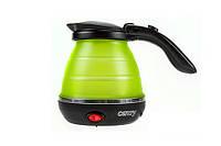 Электрочайник складной Camry CR 1265 green 0.5 л.