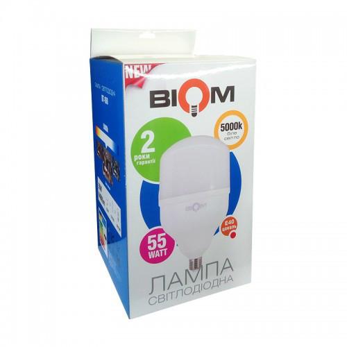 Светодиодная лампа Led Biom BT-160 T160 55W E27 5000K