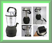 Динамо-лампа LS-360 (5 способов зарядки)