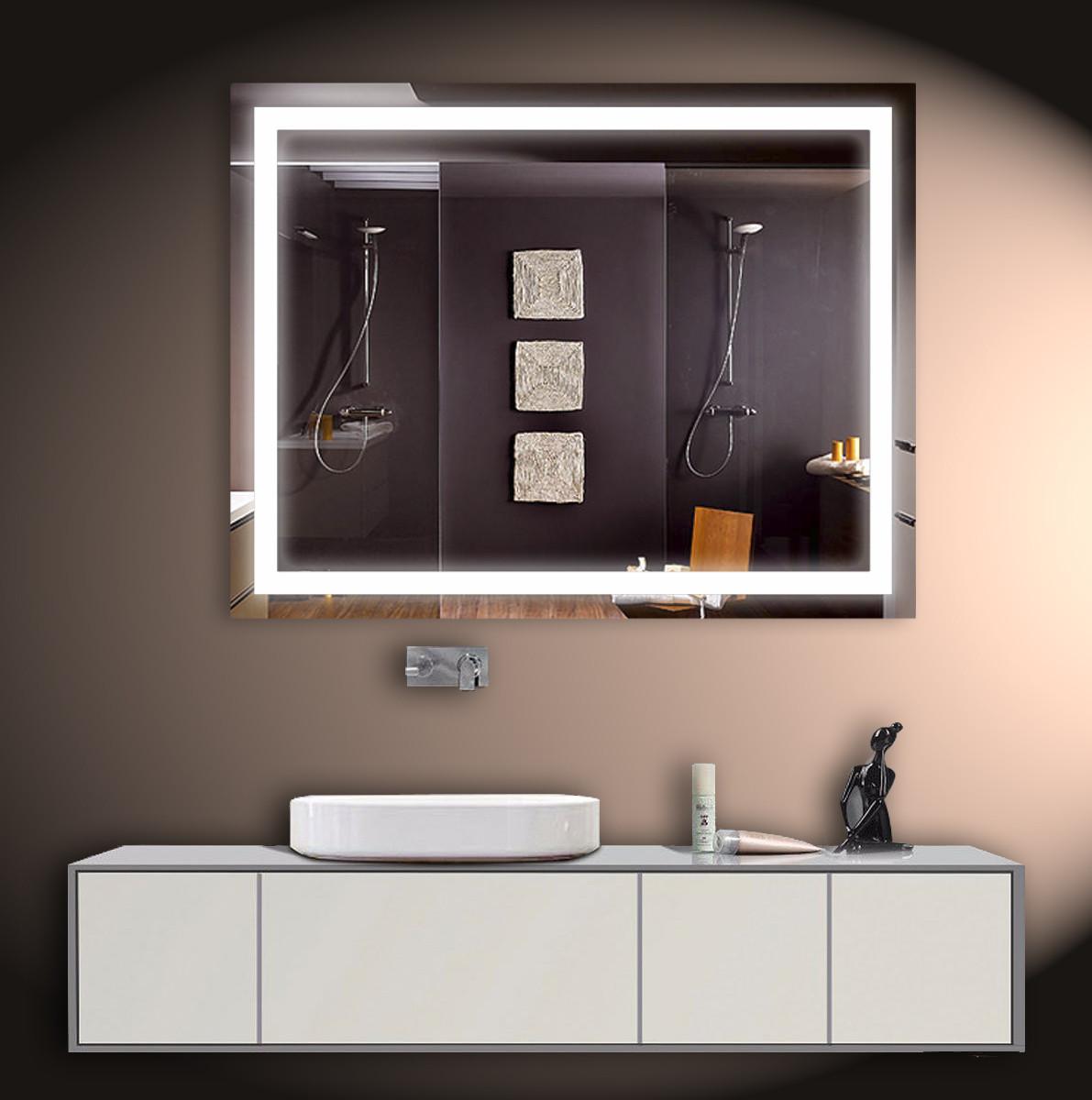 Зеркало LED ver-304 1025х800 мм