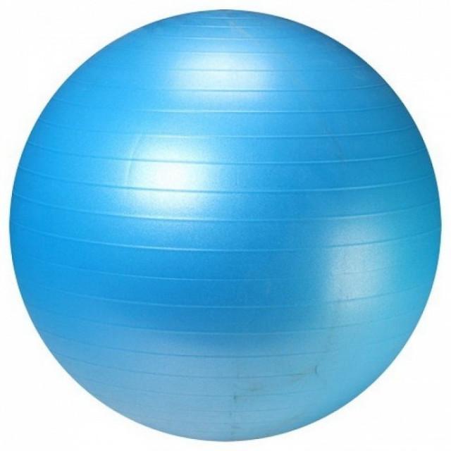 Фитбол с насосом 55см ANTI-BURST «LS3222-55b»