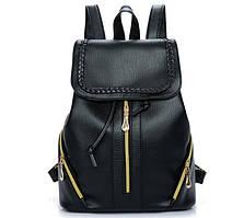 Женский рюкзак черный Cralls