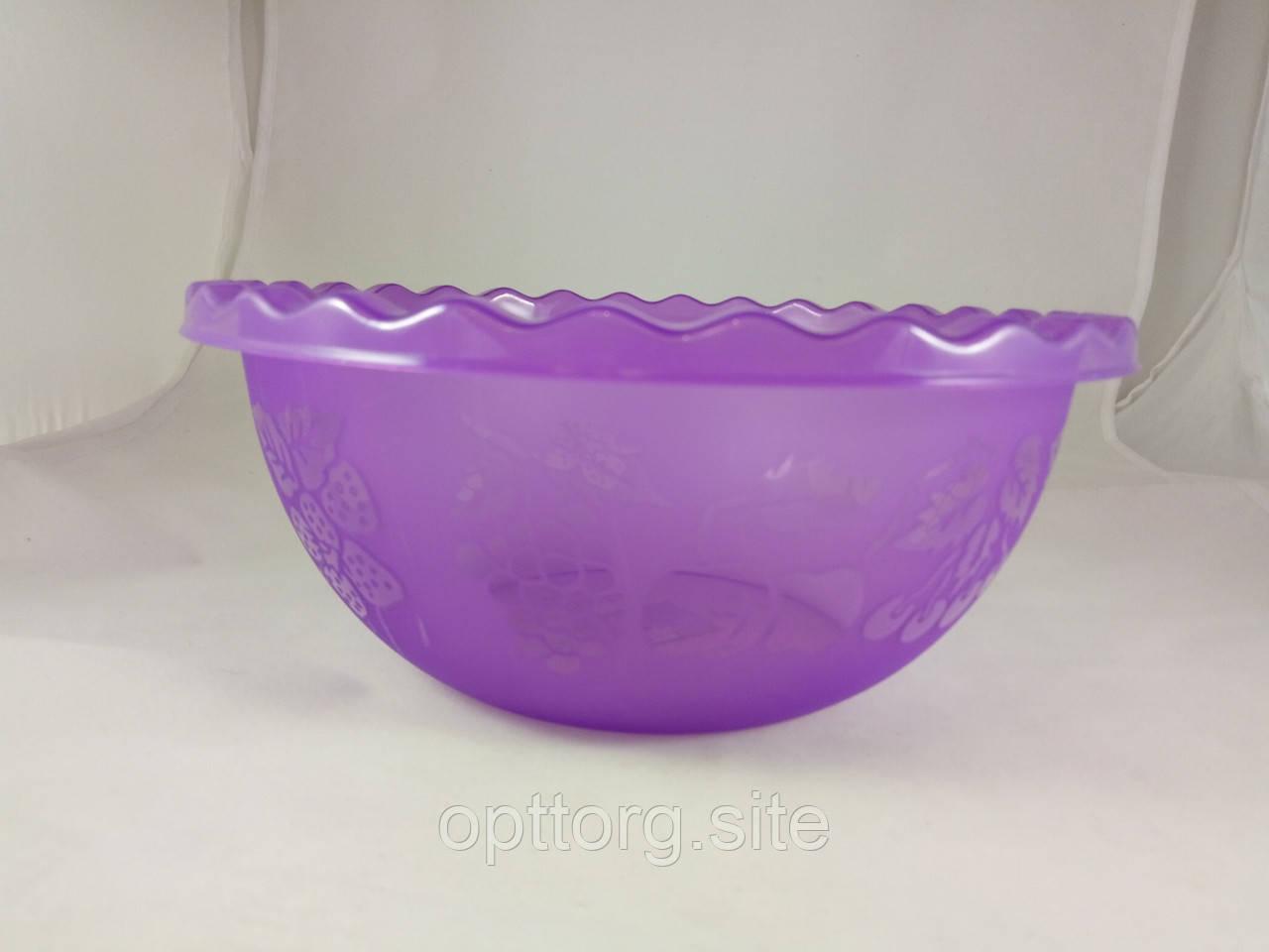 Таз для фруктов 9 л Фиолетовый