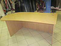 Массивный офисный стол Б/У