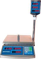 Торговые весы со стойкой до 15 кг Днепровес ВТД-15ЕЛС