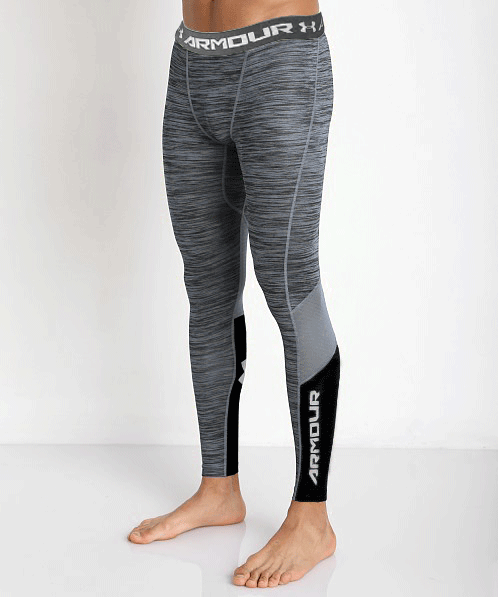 Леггинсы Under Armour Heatgear Compression Legging (CoolSwitch) 1271331-031 Серые XXL (1271331-031)