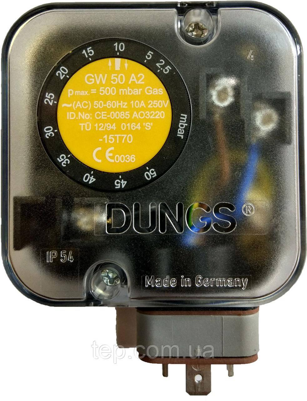 Датчик давления Dungs GW 50 A2 (GW50 A2)