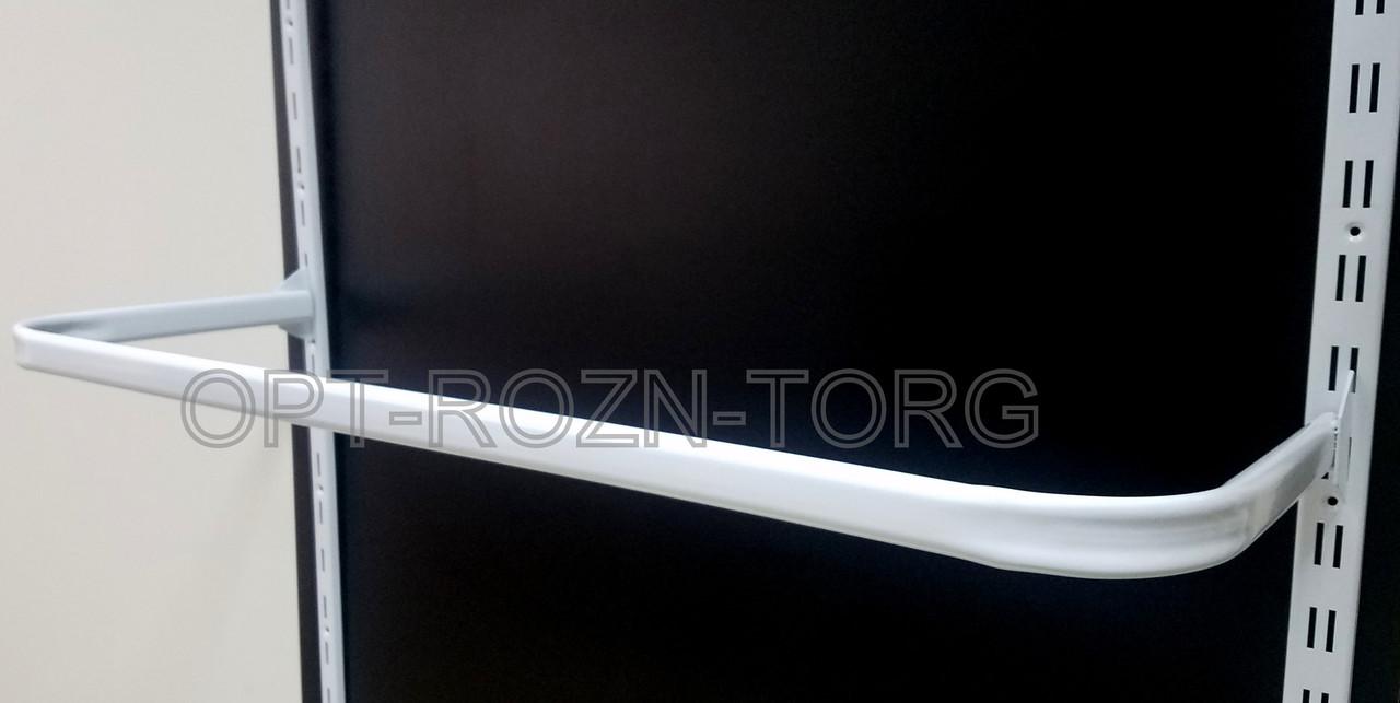 Дуга овальная белая в рейку 1.20 м.