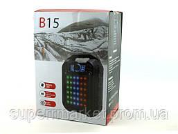 Колонка - чемодан B15 9W с караоке FM MP3, фото 3