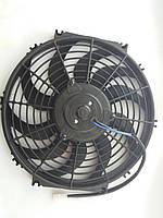 """Вентилятор 12"""", 24B, 120W, изогнутые лопасти S, PUSH , фото 1"""