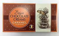 Цукерки Belgian 100г Кремові в шоколаді зі смаком карамелі