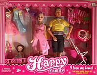 Кукла с одеждой и Кеном типа Барби 116-35А