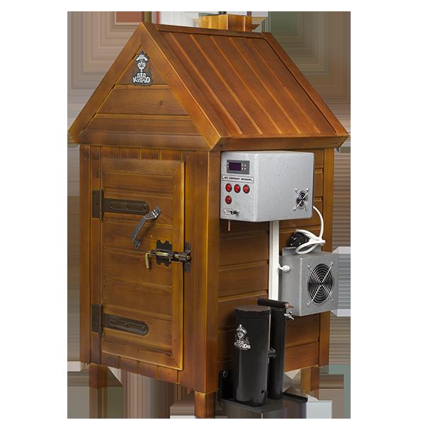 Коптильня универсальная горячего и холодного копчения купить в мини пивоварни купить в москве