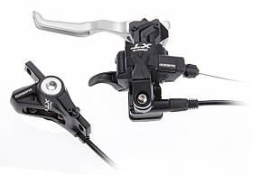 Манетки SHIMANO Deore XT ST-M775 Dual control 3x9 гидраливка черные пара