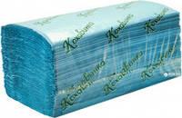 "Бумажные полотенца ""Кохавинка"" Z типа 23х25см (200шт) зеленый, синий"