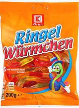 Жевательные конфеты  K-Classic Fruit Worms 200g