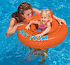 Надувной плотик круг Baby Float 1-2 года Intex 56588