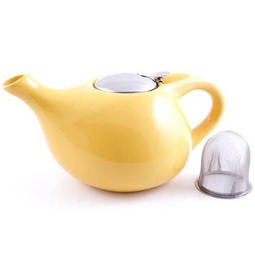Чайник Fissman 1300 мл желтый