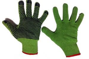 Перчатки рабочие хб с покрытием ПВХ
