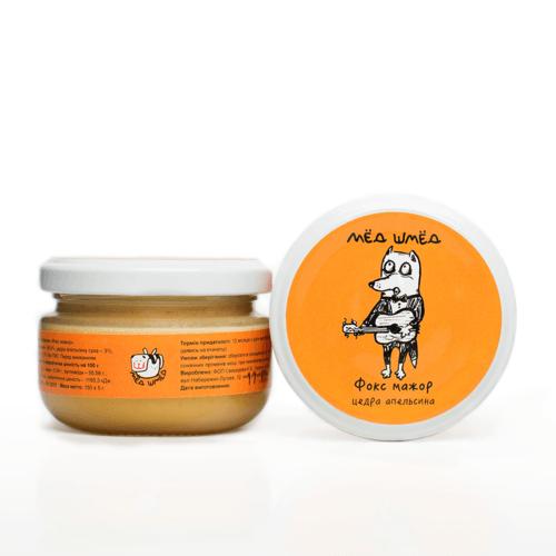 Мёд-шмёд Фокс мажор с цедрой апельсина 150 г