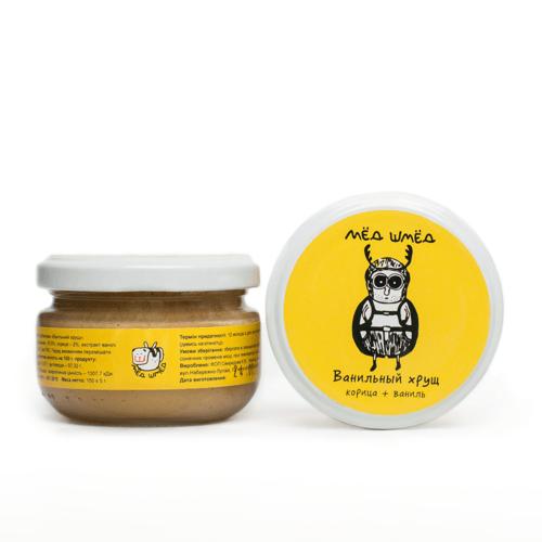 Мёд-шмёд Ванильный хрущ с корицей и ванилью 150 г