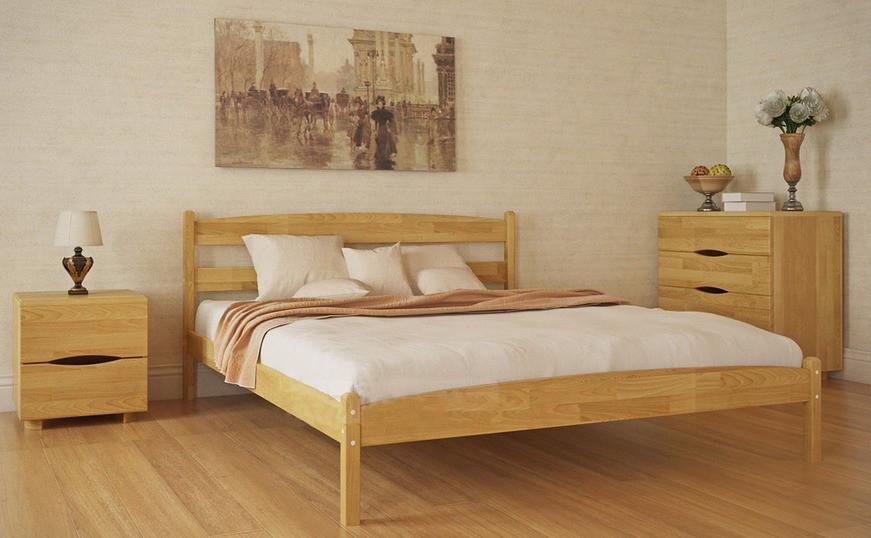 Кровать деревянная Лика без изножья фабрика Олимп