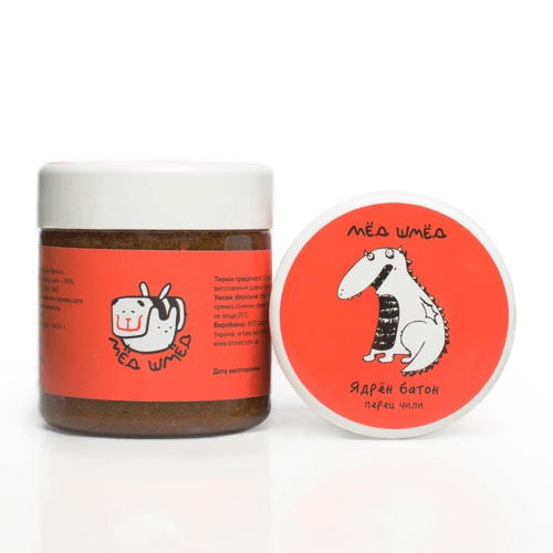 Мёд-шмёд Ядрен батон с острым перцем чили, базиликом и кориандром 250 г