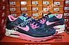 Кроссовки Nike Air Max 90 Blue Pink Розовые женские, фото 2