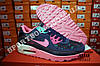 Кроссовки Nike Air Max 90 Blue Pink Розовые женские, фото 3